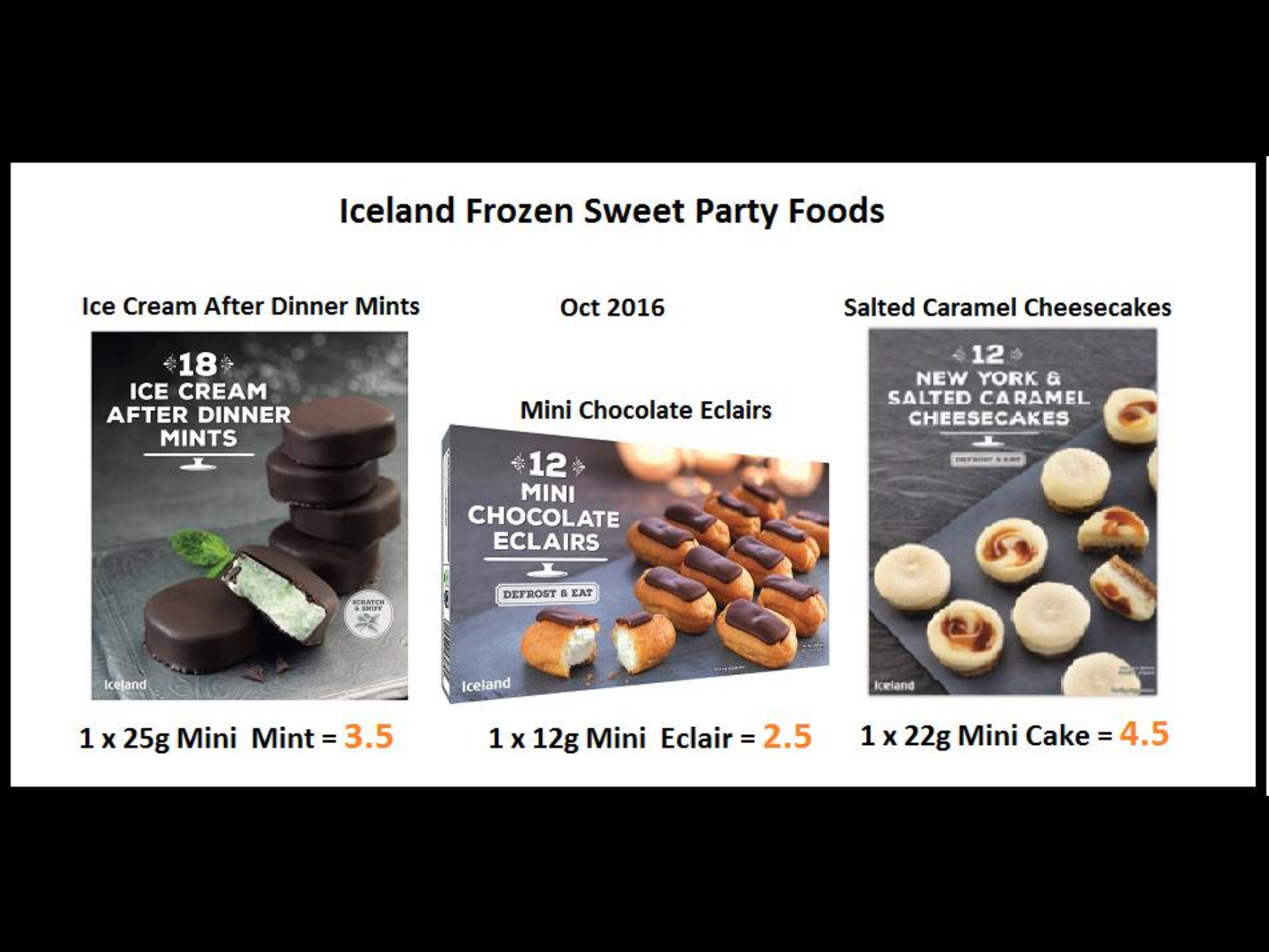 Pin By Sharon On Iceland Foods Syns Salted Caramel Cheesecake After Dinner Mints New York Ice Cream