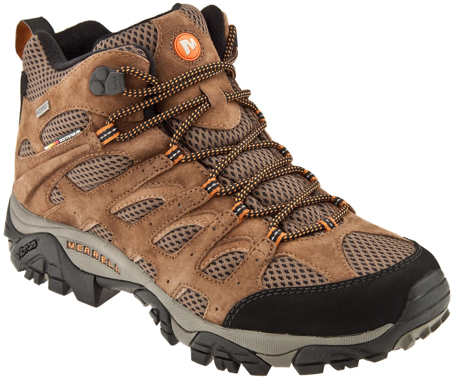 Merrell Moab Mid Waterproof Mens Boot (Earth)