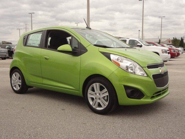 2014 Chevrolet Spark Ls Lime Green Chevrolet Spark Ls