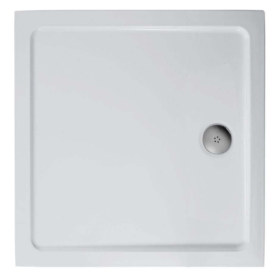 Double bed top view png - L5087 Simplicity 800mm X 800mm Low Profile Flat Top Shower Tray Including Waste
