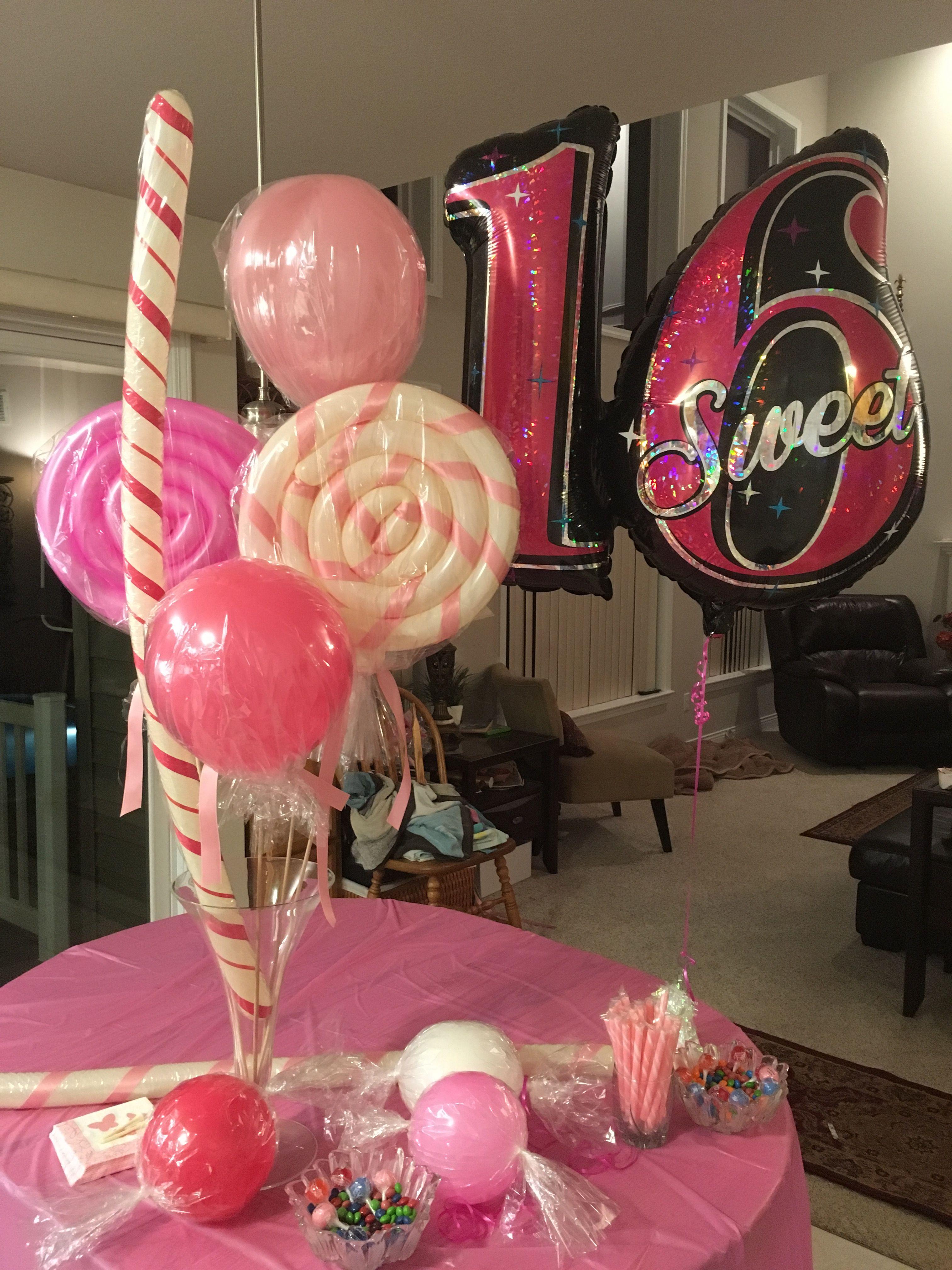 Sweet 16 Balloons 16 Balloons Balloons Sweet 16 Birthday