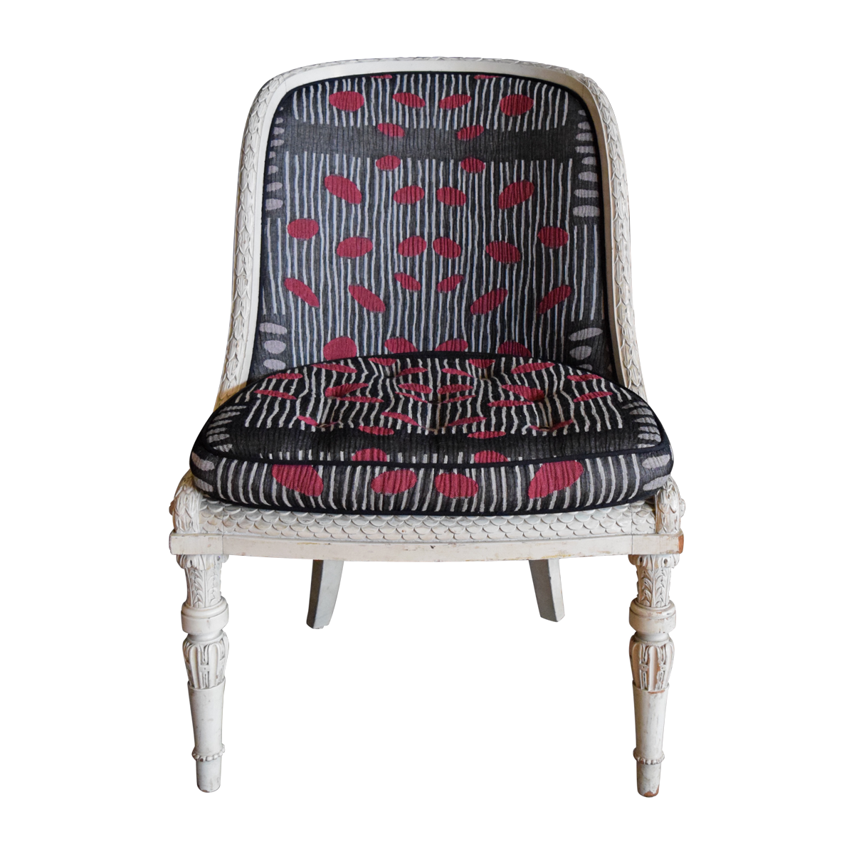 occasional chair with japanese fabric upholstery for the home rh pinterest co uk