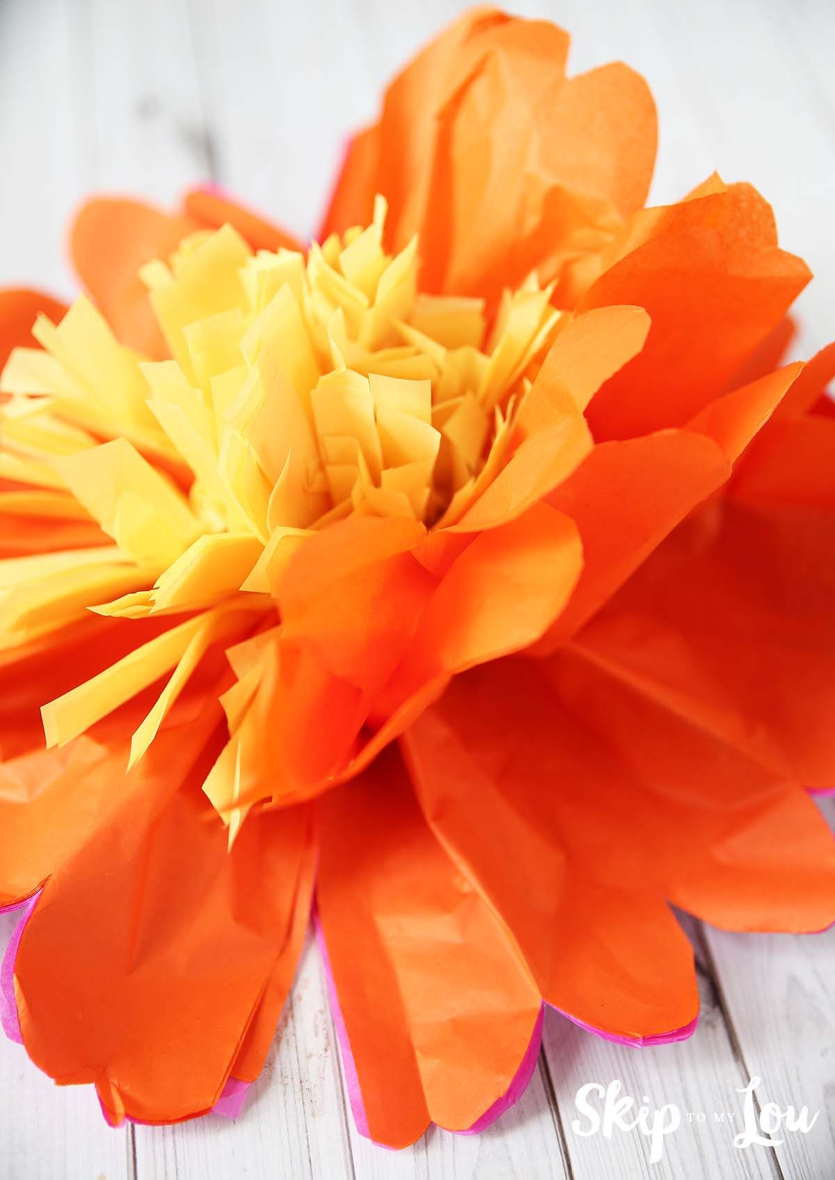 How To Make Tissue Paper Flowers Skip To My Lou Skip To My Lou