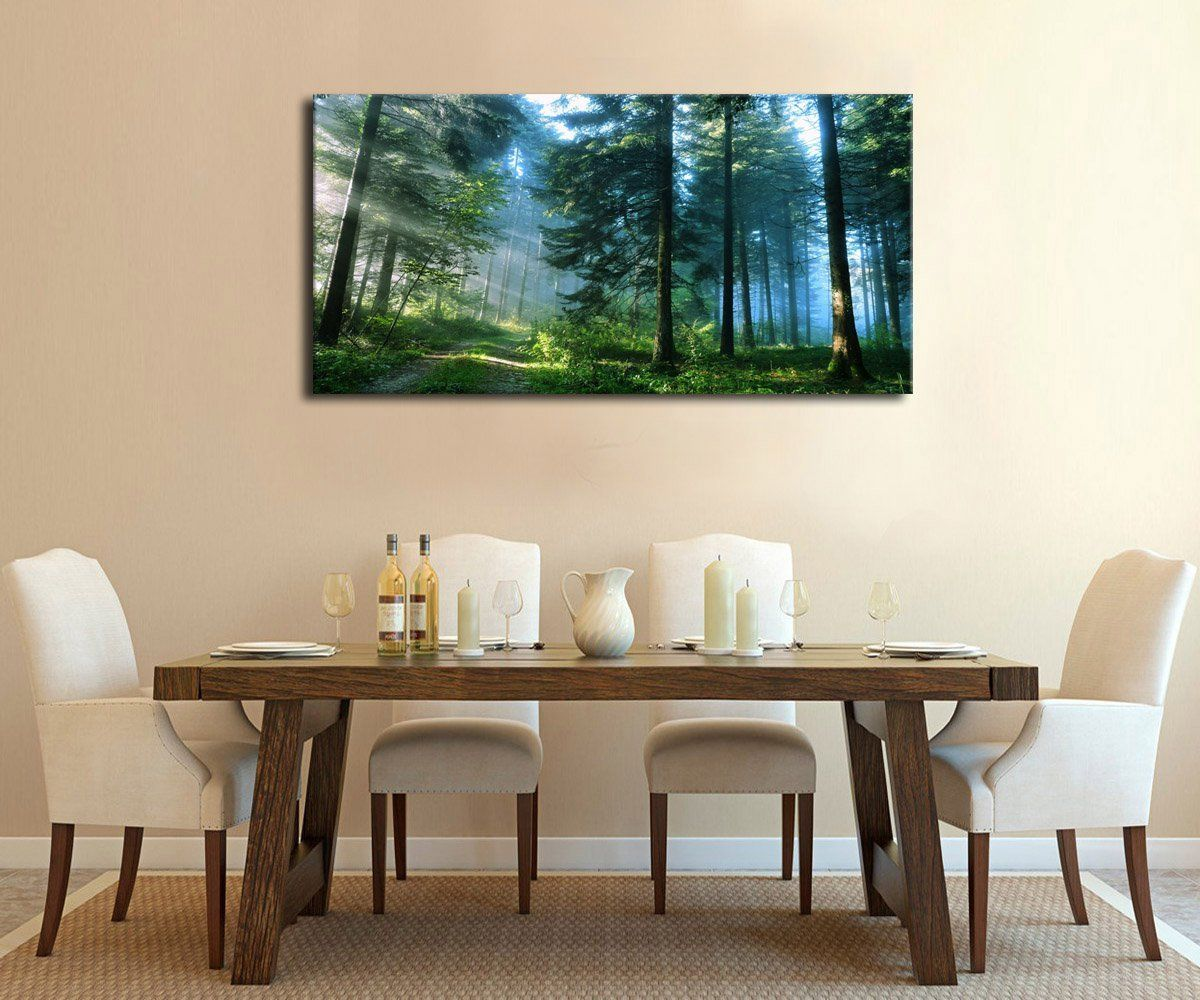 amazon com artewoods canvas wall art prints nature painting modern rh pinterest com