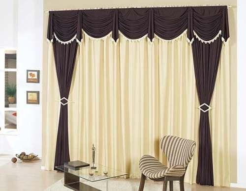Imagenes de cortinas para salas elegantes pinteres for Cortinas elegantes para sala