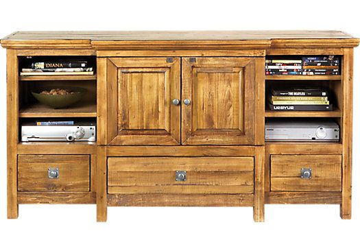 Valley Stream Natural Console Consoles TVs and Natural