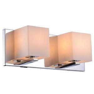 decor living trinket collection 2 light chrome wall vanity light rh pinterest com