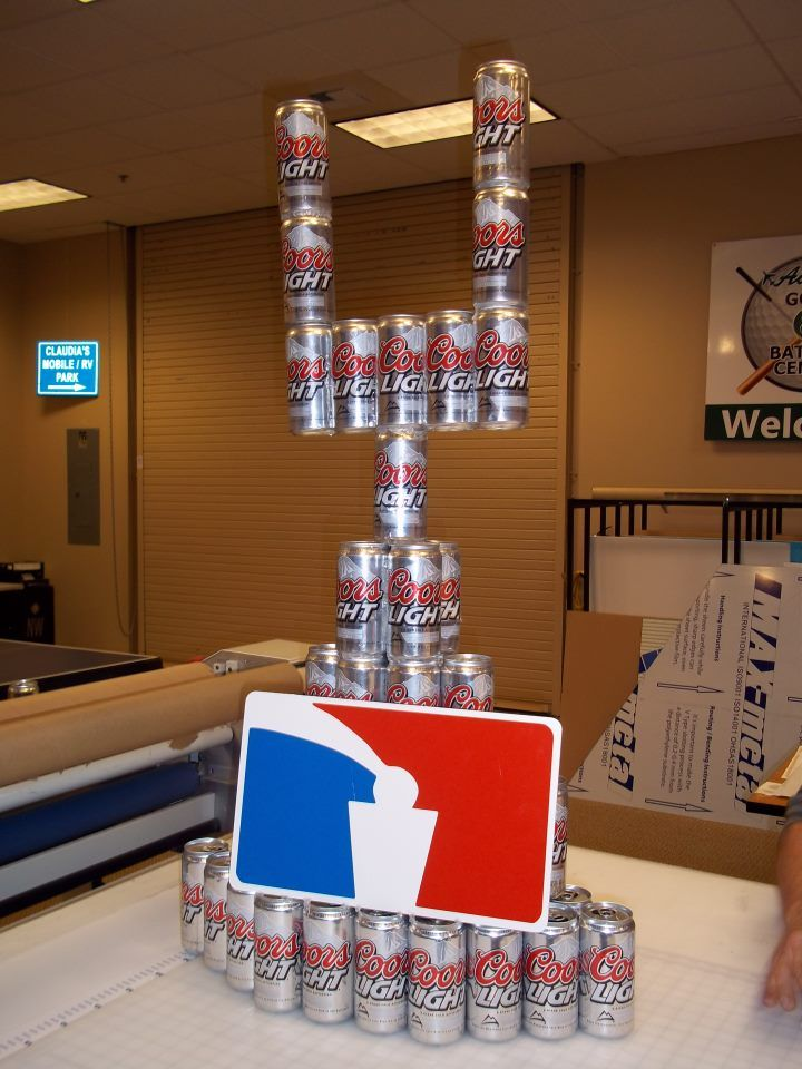 beer pong trophy signs