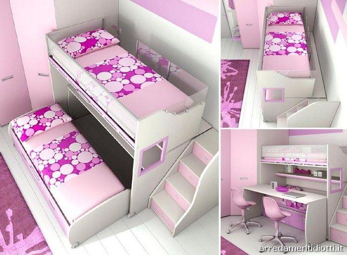 Camerette A Soppalco Moretti.Soppalchi Smart Diotti A F Italian Furniture And Interior Design