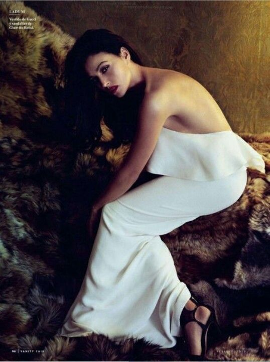 Monica Bellucci. Vanity Fair Spain, Feb 2013. Ph.: Norman Jean Roy