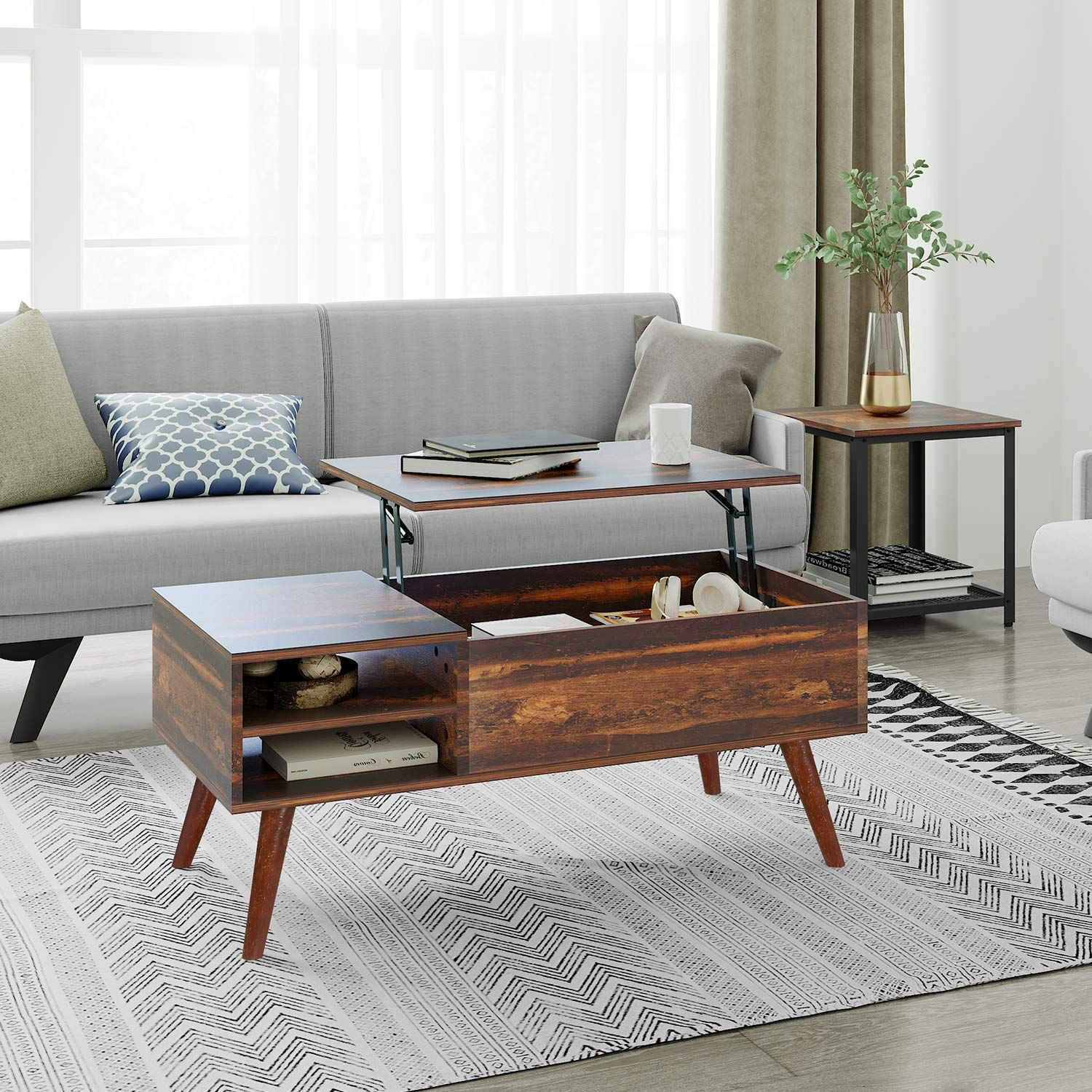 Amazon Com Wlive Wood Lift Top Coffee Table With Hidden Compartment And Storage Shelf Li Wood Lift Top Coffee Table Coffee Table Wood Solid Wood Coffee Table [ 1500 x 1500 Pixel ]