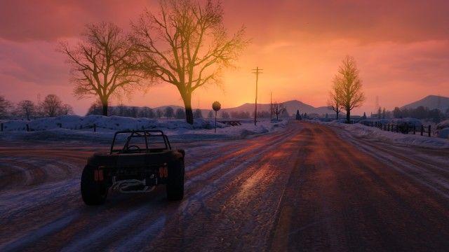 GTA Online Snow via Reddit user AlMiCo | Grand theft auto