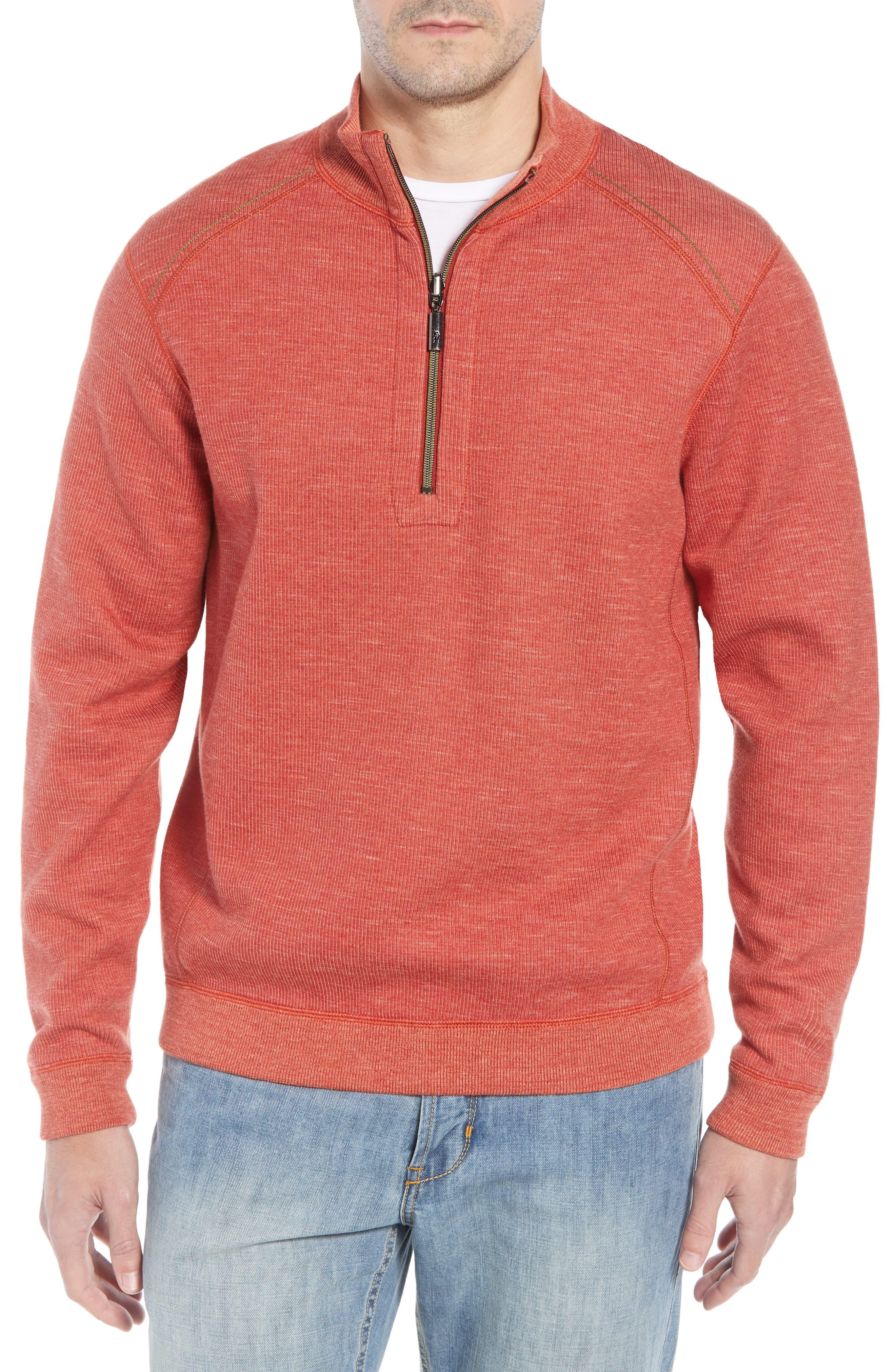 Tommy Bahama Flipsider Reversible Quarter Zip Pullover Nordstrom Quarter Zip Pullover Preppy Pullover Mens Sweatshirts [ 4048 x 2640 Pixel ]