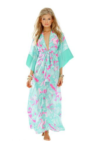 073b7f412be323 Daniella Kimono Maxi Dress | All Things Lilly Pulitzer | Dresses ...