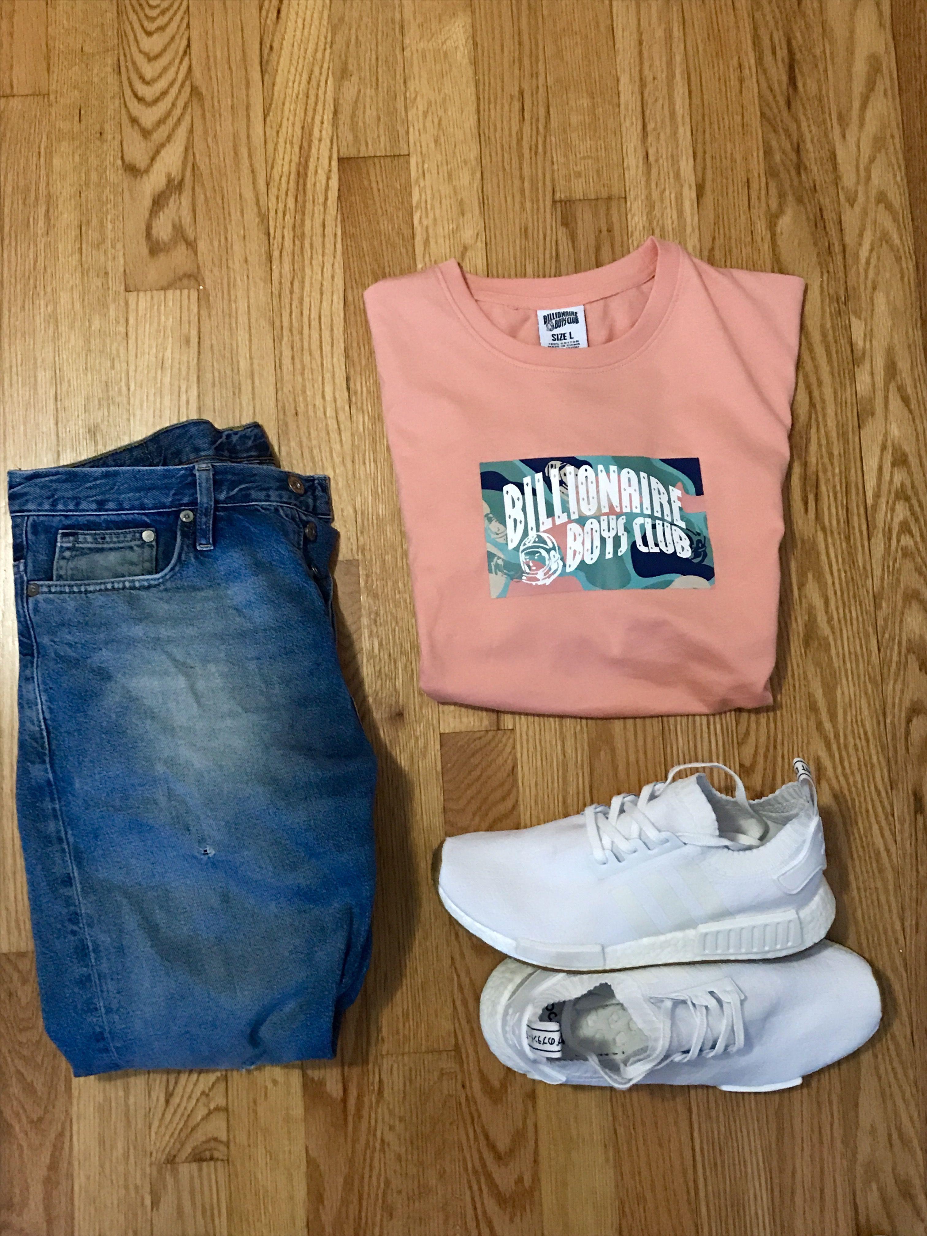 Simple Fit BBC TShirt Adidas NMD gumdrop Estilo