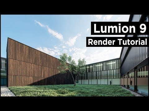 lumion 9 modern architecture rendering best tutorial. Black Bedroom Furniture Sets. Home Design Ideas