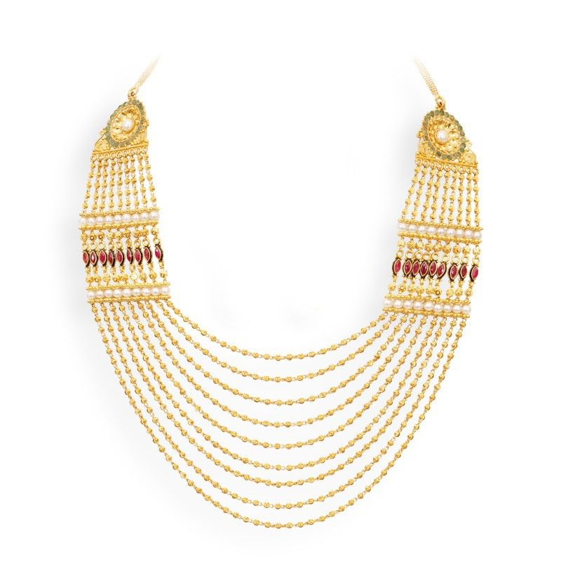 Gold Chandraharam Gold Jewelry Pinterest