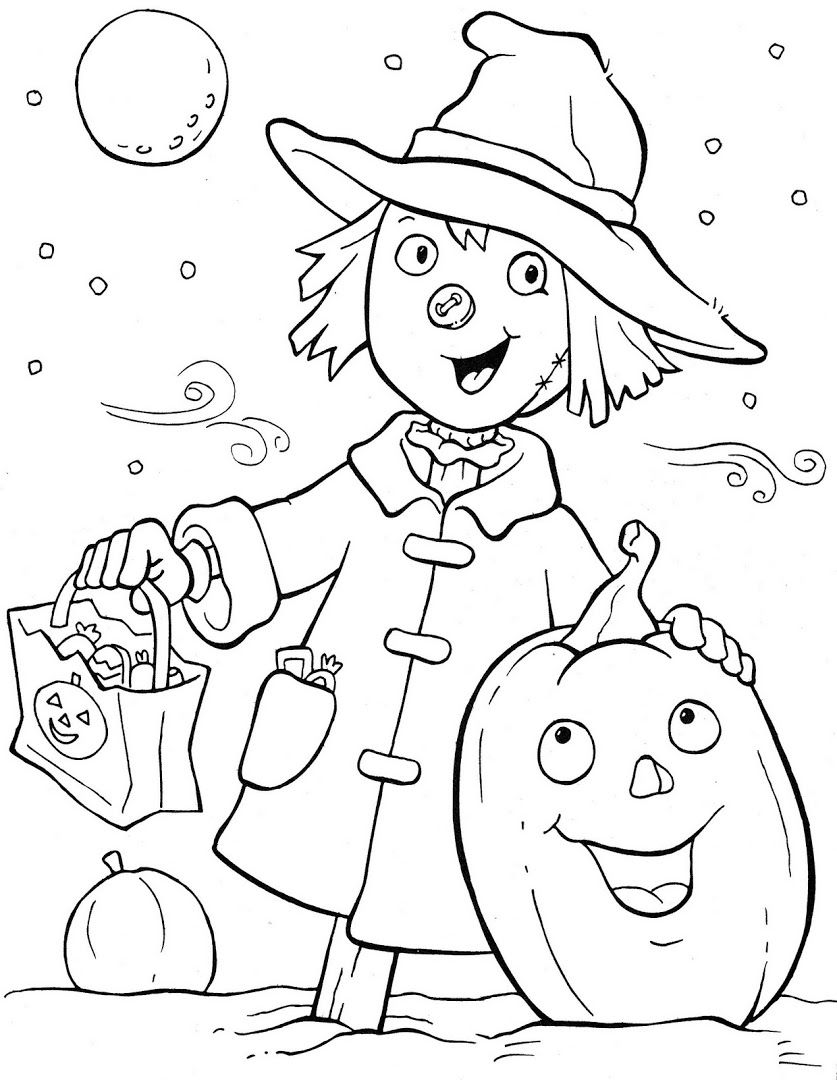 Ghostly Fun! | Holidays❤Hall☪ween❤Coloring Books ...