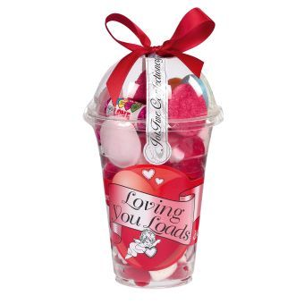 Loving You Loads Sweetie Cup by Jolly Fine Confectionery