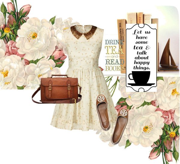 """At a cup of tea.."" by madlene-137 ❤ liked on Polyvore"