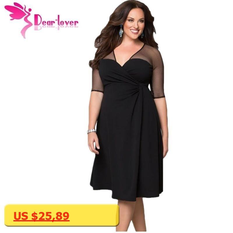 Dear Lover Plus Size Xxl Women Fashion Half Sleeve Work Wear Sugar
