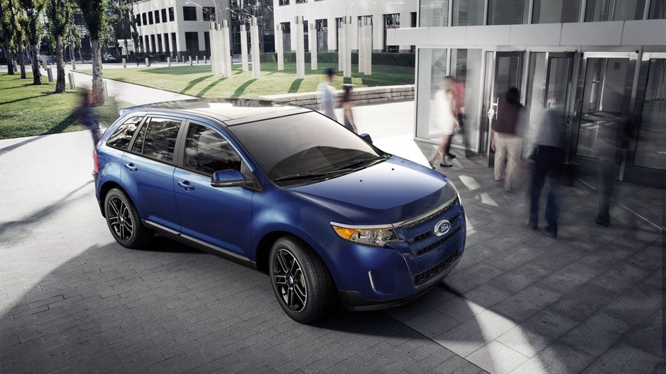 2013 Ford Edge Sel With Appearance Package In Deep Impact Blue