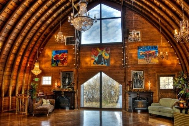 Barn Turned into Homes Interior
