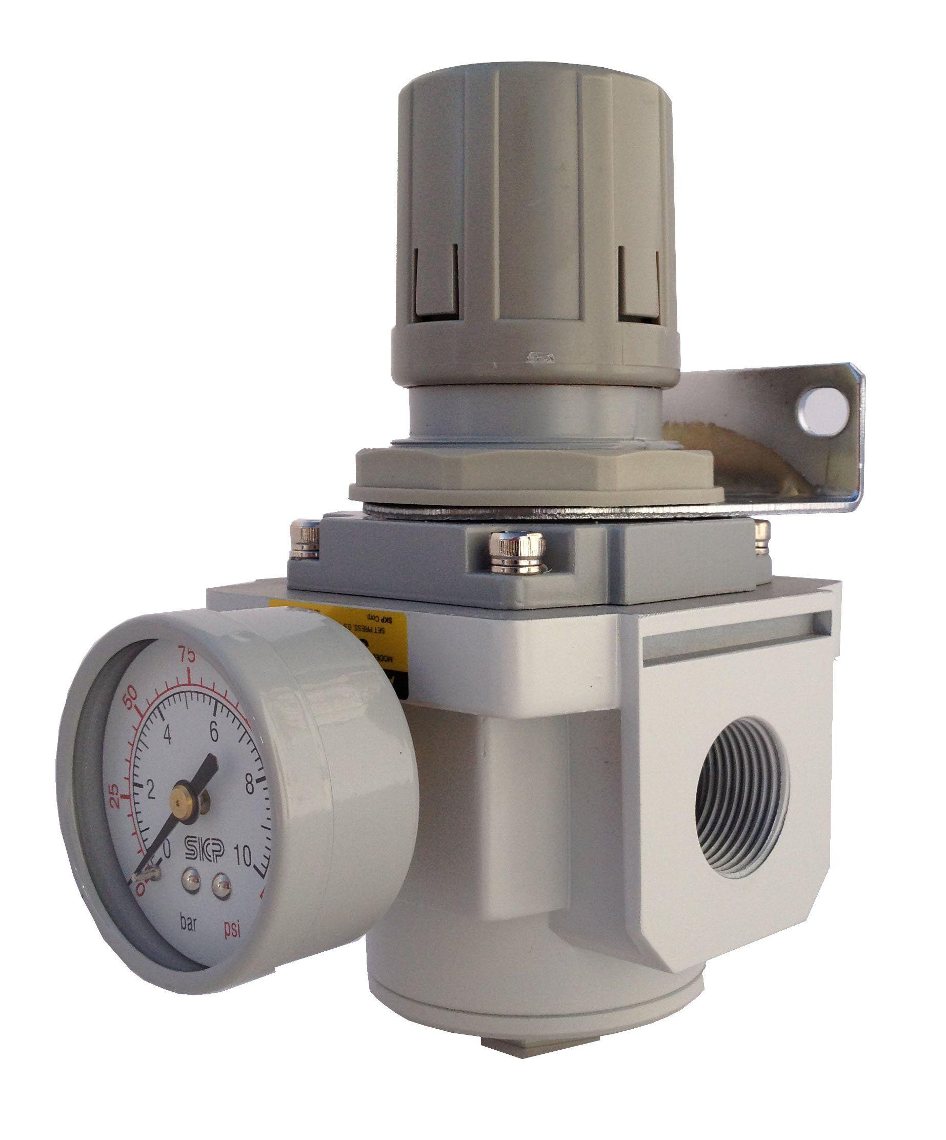 Pneumaticplus Sar6000mn10bg Air Pressure Regulator 1 Npt With Gauge And Bracket Visit The Image Link More Details This Is Air Pressure Pressure Regulators