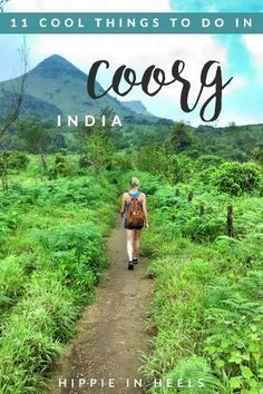 When I heard of Coorg all that came to mind was COFFEE so I found myself just blown away by how many things to do in Coorg there are. In case you havent heard of this area its in Karnataka India in the Western Ghats.I went with goMowgli and one of the guides Karan grew #style #shopping #styles #outfit #pretty #girl #girls #beauty #beautiful #me #cute #stylish #photooftheday #swag #dress #shoes #diy #design #fashion #Travel