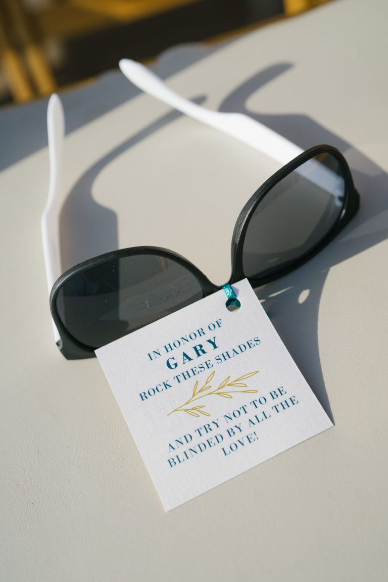 Sunglass Favors for Wedding - Surf & Sand Resort – Orange County ...