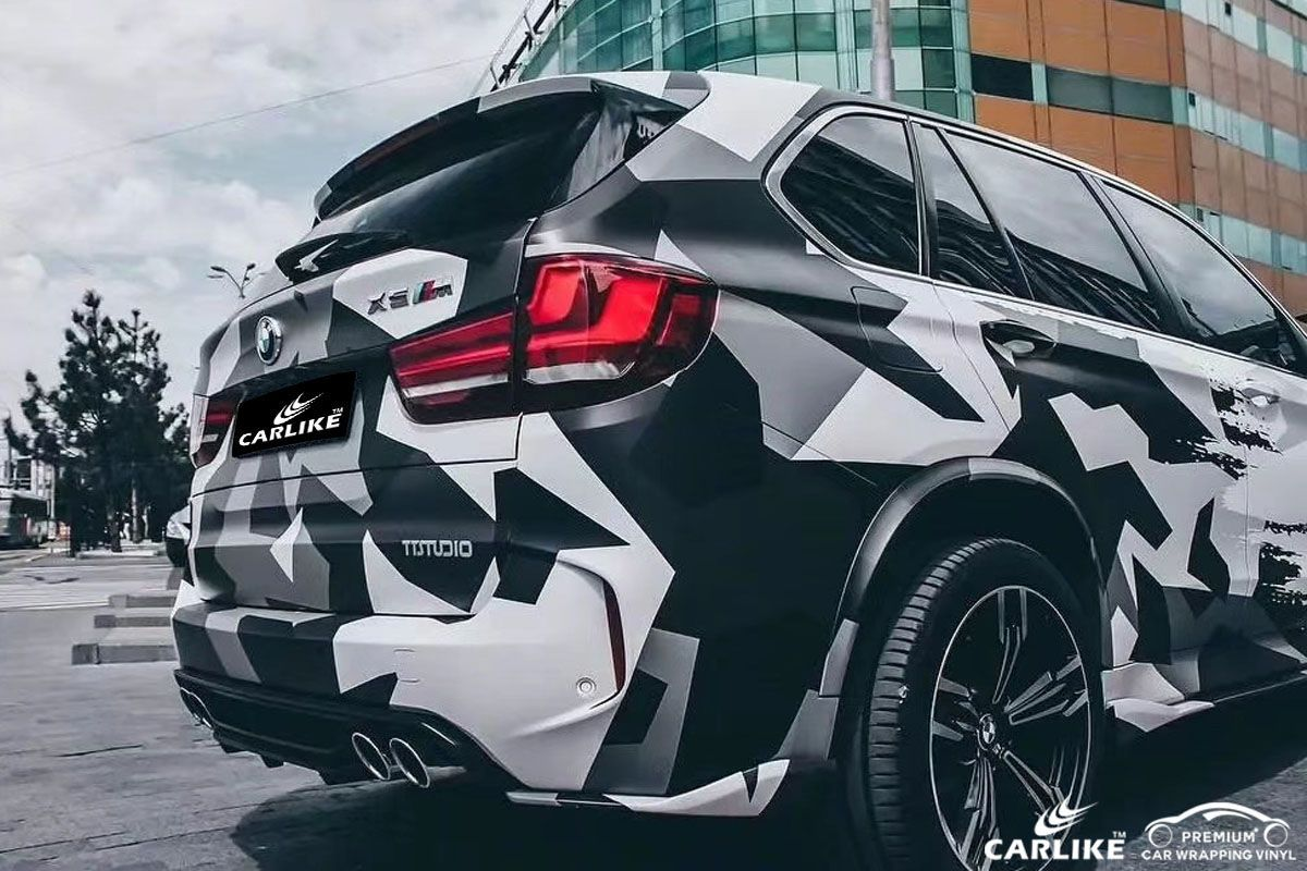 Cl Ca Camouflage Car Wrap Vinyl For Bmw Sino Vinyl Car Wrap Camo Car Car Sticker Design