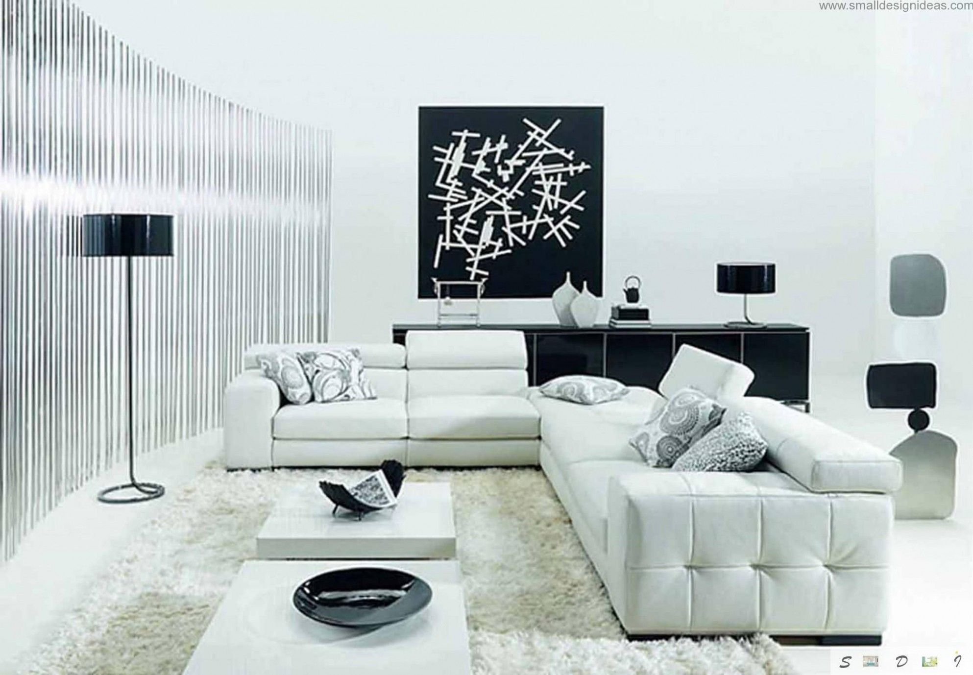 You Should Experience Black And White Living Room Design At Least
