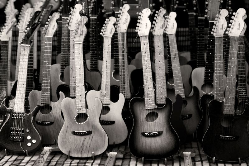 guitar wall murals buy cheap lots from china mural vector music