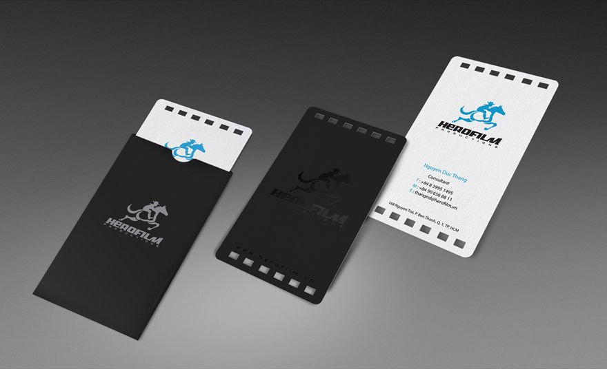 Hero film business card by bratus vietnam business cards hero film business card by bratus vietnam reheart Images