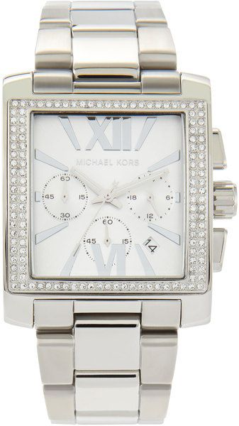 Crystal Square Watch - Lyst
