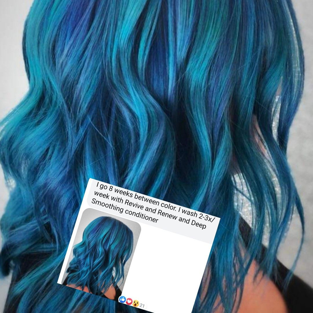 Monat Anti Aging Vegan Naturally Based Hair Products And Vibrant Hair Colors Must Have Blue Vibrant Hair Colors Hair Color Monat