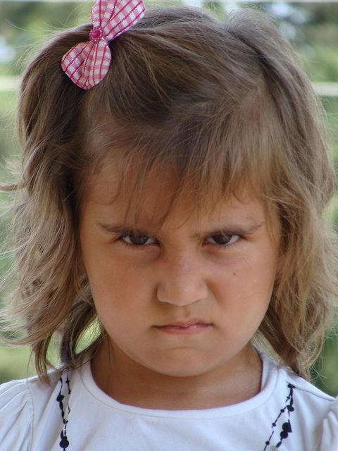 Little Girl Angry on Her Dad by khanmehmetozdemir, via Flickr
