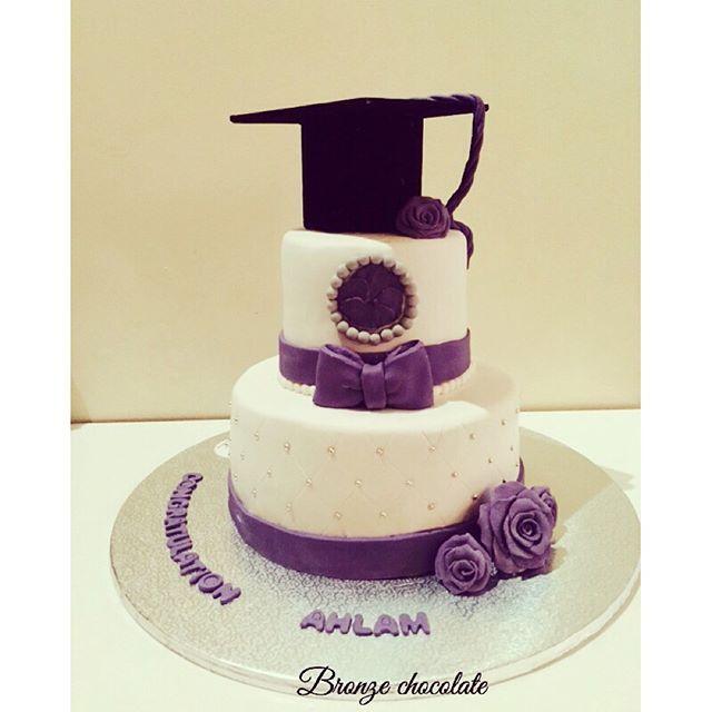صور كيك تخرج مظاهر الاحتفال بيوم التخرج Chocolate Desserts Cake