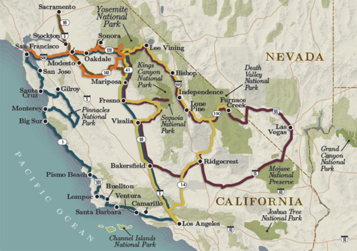 5 Best Road Trip Itineraries To Yosemite National Park My Yosemite Park Road Trip Fun Road Trip Itinerary California Travel Road Trips