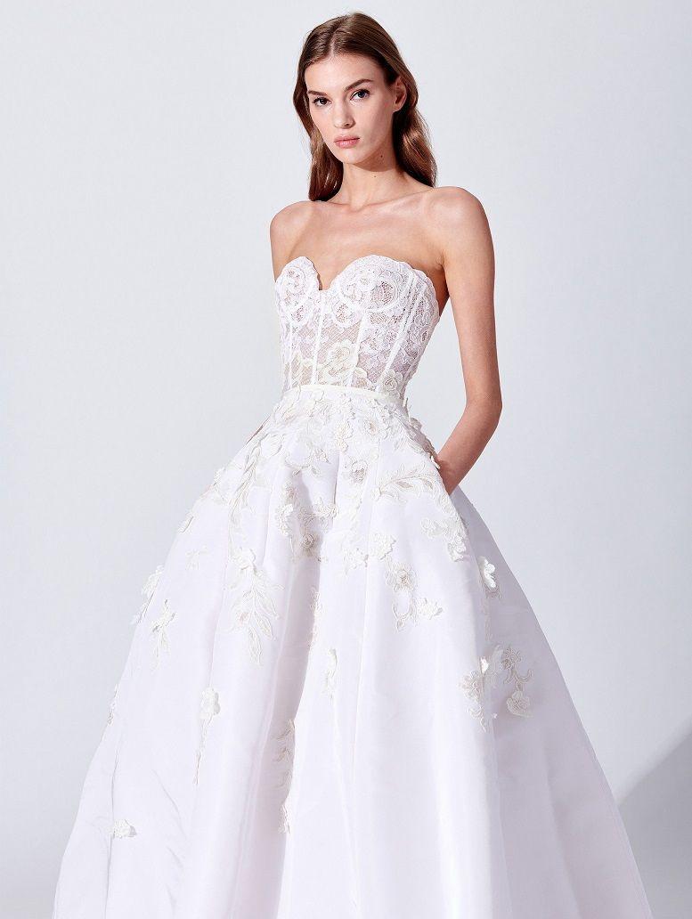 Oscar de la Renta Bridal Spring 2019 Collection