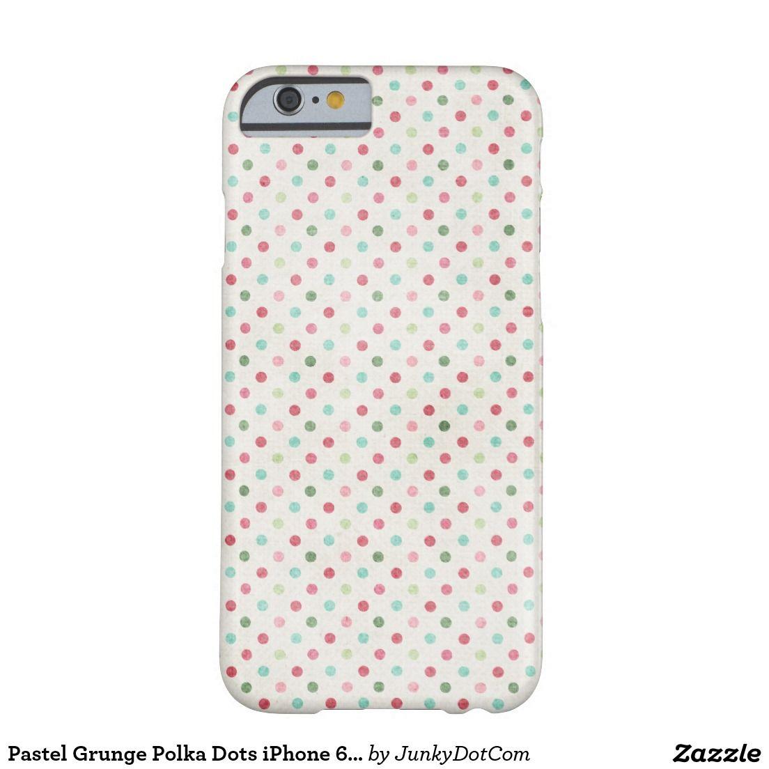 Pastel Grunge Polka Dots iPhone 6 case - Sept 27