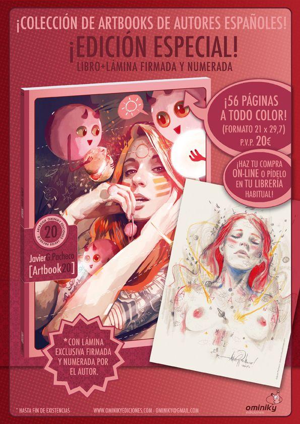 JAVIER G. PACHECO ARTBOOK 20/ Ominiky Ediciones on Behance