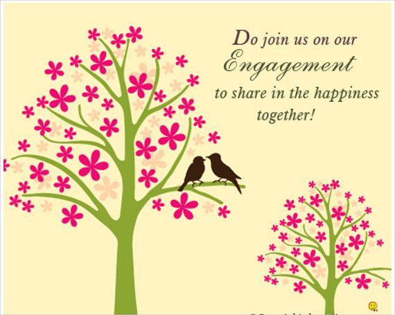 Congratulations wedding  engagement RSVP card