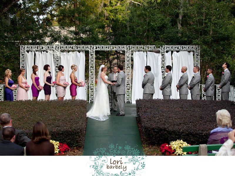 Mead Garden Amphitheater Erin And Brandon Winter Park Wedding Lori Barbely Photography Florida Venuespark