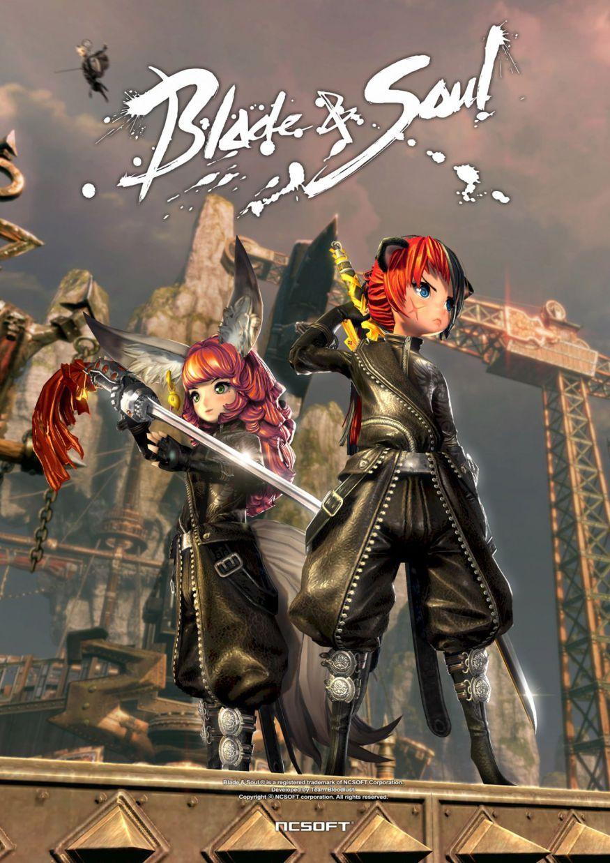 Blade & Soul Poster Anime Art Blade and soul anime