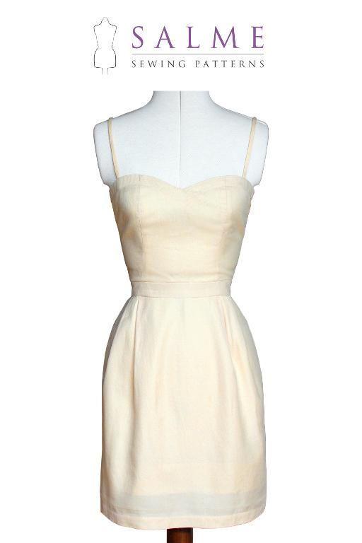 Silvia Dress | Sewing patterns, Patterns and Dress patterns