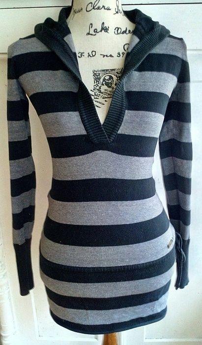 d4f5d1c0d08755 Schwarz -grau gestreifter Pullover von Soccx   kleiderkreisel ...