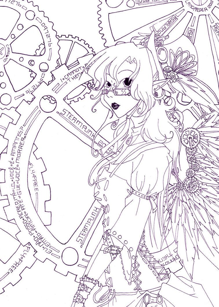 Steampunk Coloring Pages Add to Favourites Coloring