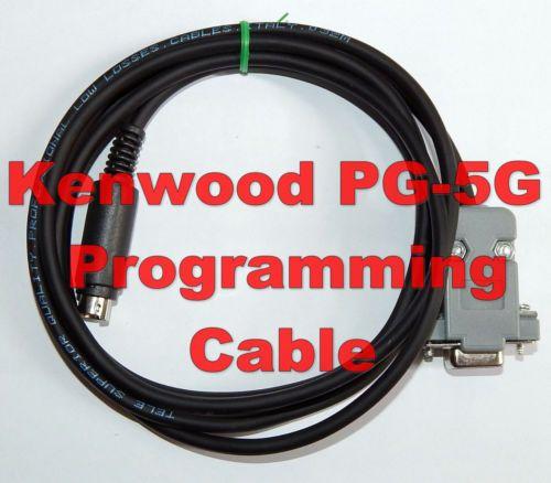Kenwood PG-5G Serial-RS232 programming cable TM-D710, TM-V71