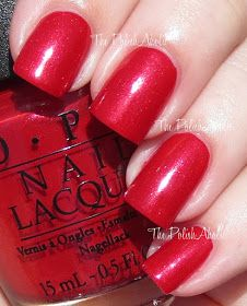 OPI Couture de Minnie Collection; Innie Minnie Mightie Bow